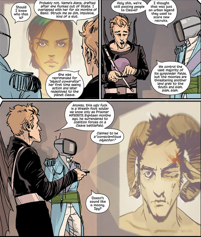 Brian K. Vaughan talks Saga, one of the year's best science fiction comics