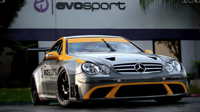 Tuning Shop Turns CLK63 AMG Black Into Legitimate Race Car