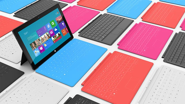 Windows Surface RT Tablets To Be Lighter and Thinner Than the iPad