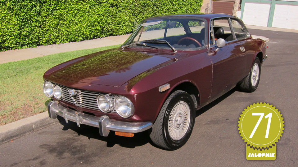1974 Alfa Romeo 2000 GT Veloce: The Jalopnik Classic Review - Jalopnik