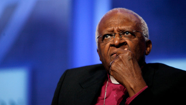 Archbishop Desmond Tutu and Other Nobel Peace Laureates Protest NBC's New Reality Show