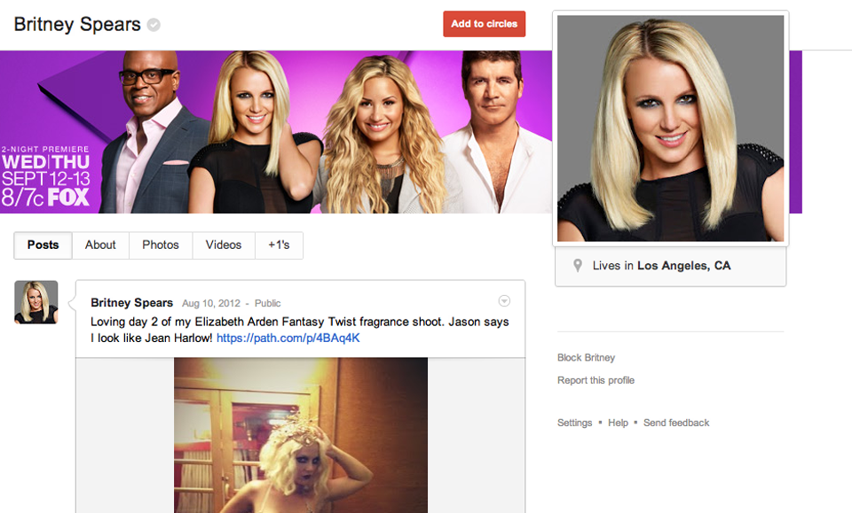 Click here to read Google+ Gets Custom URLS (For Companies and Famous People)