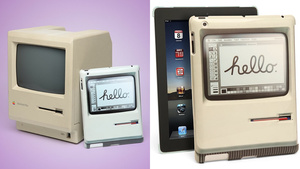Double Take: An iPad Case That's a 1984 Mac