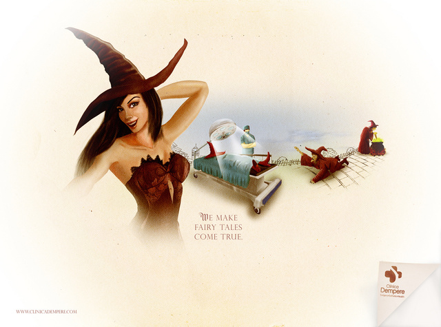 The Little Mermaid goes under the knife in these Disney Princess plastic surgery ads
