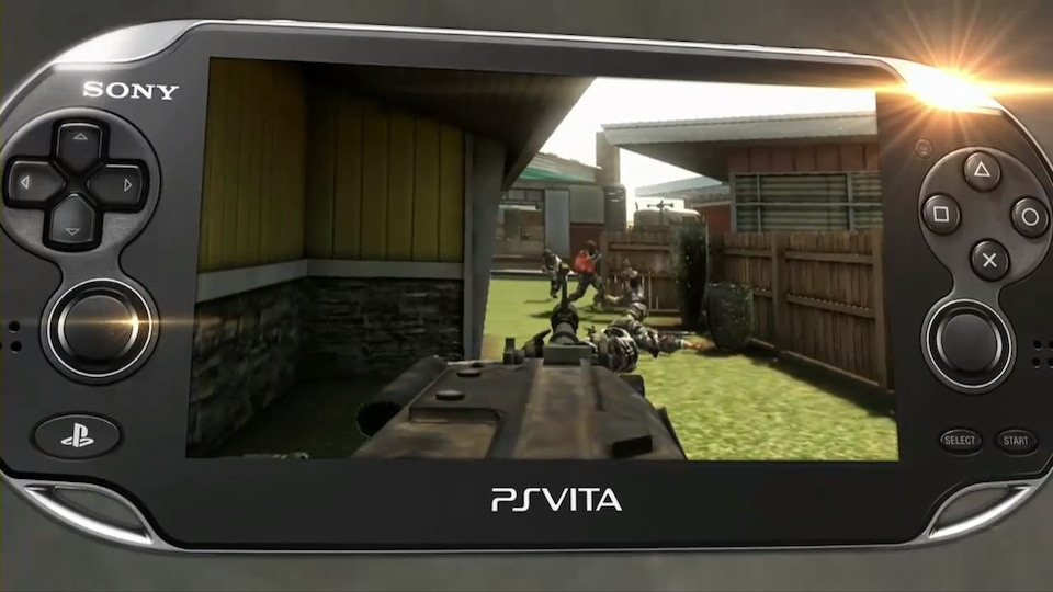 Playstation Vita Call Of Duty : Our first look at call of duty running on a playstation vita