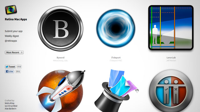 Click here to read Retina Mac Apps Is an Always Up-To-Date Directory of Retina Display-Compatible Applications