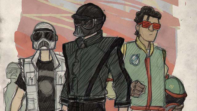 Click here to read <em>Star Wars</em> Looks Rad as a 1980s Teen Movie