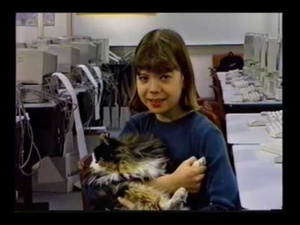 Even in 1995, We Knew What the Internet Would be Good For: Scholarly Pursuits...and Cats
