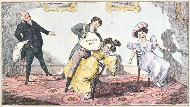 The strictly non-medical history of laughing gas