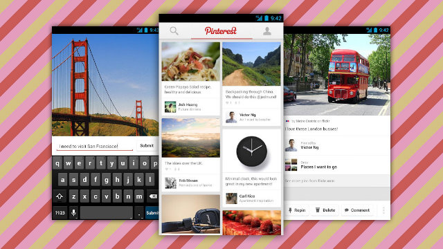 Pinterest Apps for Android and iPad Keep You Pinning and Repinning On the Go