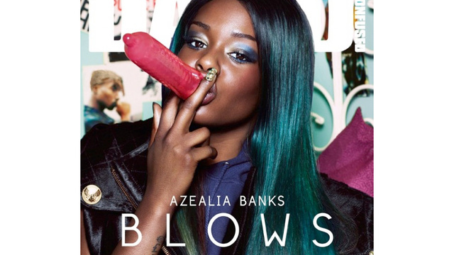 See Why This Azealia Banks Magazine Cover Is Banned In Seven Countries