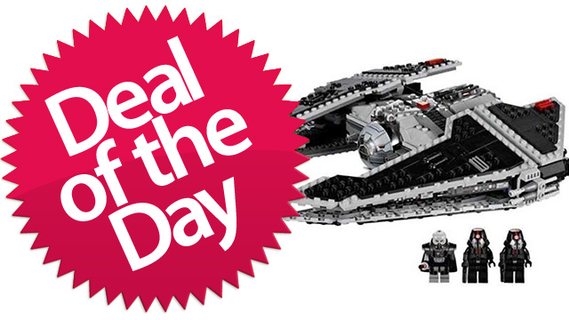 This Lego Star Wars Sith Fury-class Interceptor Is Your Lego-Is-My-Ally Deal of the Day