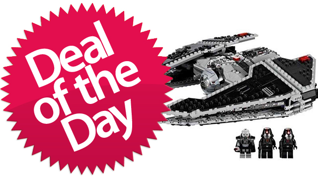 Click here to read This Lego Star Wars Sith Fury-class Interceptor Is Your Lego-Is-My-Ally Deal of the Day