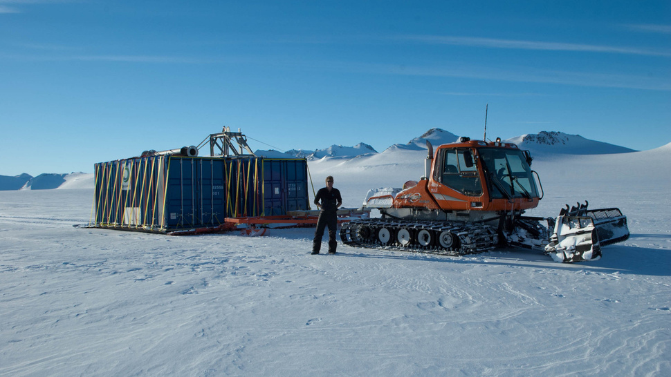 Talk to the Antarctic Explorer Who's Drilling Through Miles of Solid Ice