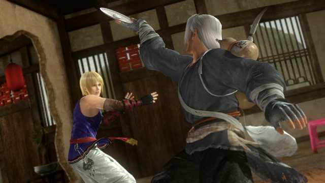 Witness Dead or Alive 5's Latest Fighters Engaged in a Quaint Dinner to the Death