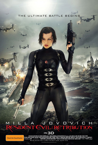 International Poster Resident Evil: Retribution