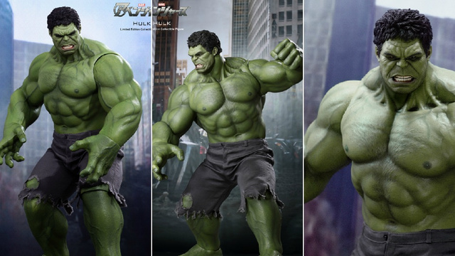 I Know What Hulk Looks Like with His Shirt Off