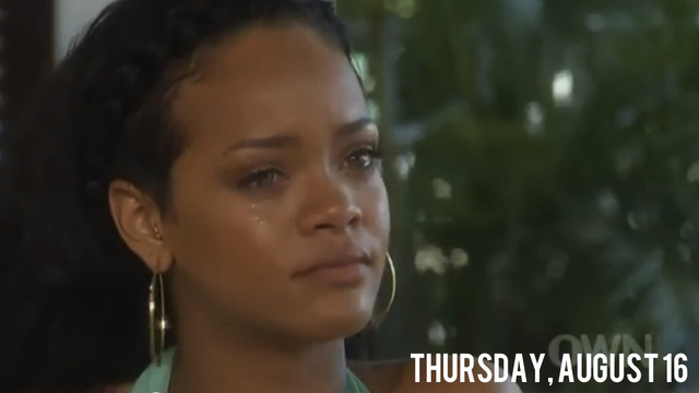 Rihanna Tearfully Tells Oprah That Chris Brown Needs Help