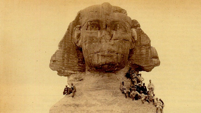 Remember when baseball players attacked the Sphinx in 1889?