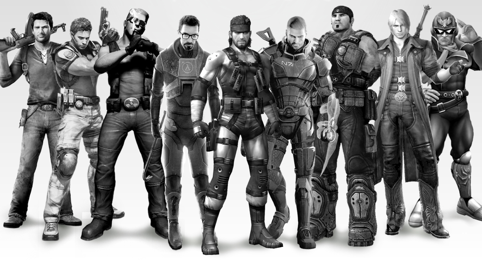 Click here to read Every Game Has a Hero.  Video Games' <em>Expendables</em> Has Them All.