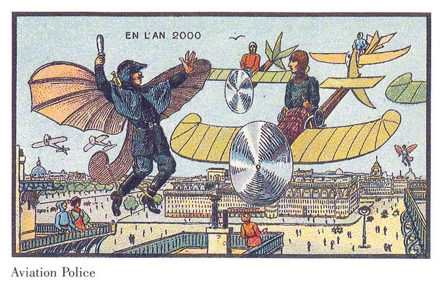 Visions of the year 2000 by 20th century French artist are half hilariously wrong, half weirdly prescient