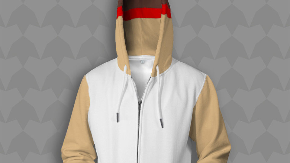 Click here to read Cute Hoodie Turns You Into a Subtle Ryu From <em>Street Fighter</em>