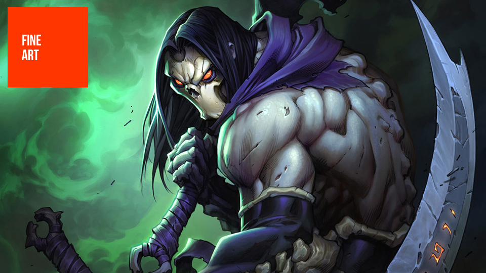 Click here to read The Art of <em>Darksiders II</em>