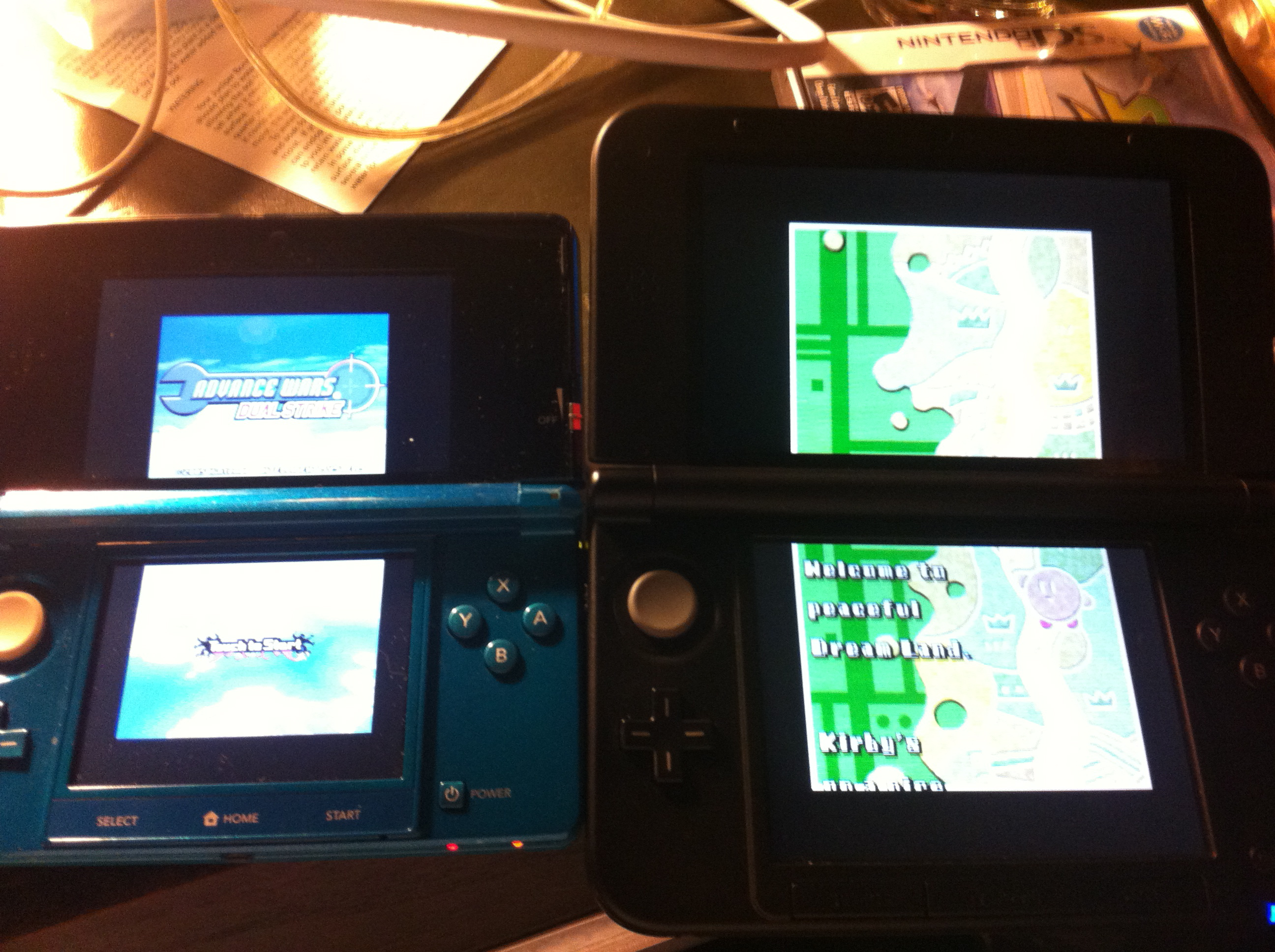 how to put ds games on 3ds