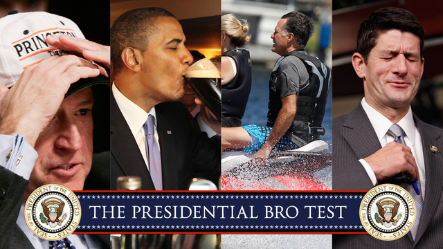 Who Is the Biggest Bro in the Presidential Race?