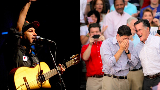Paul Ryan's Favorite Band Really, Really Hates Him