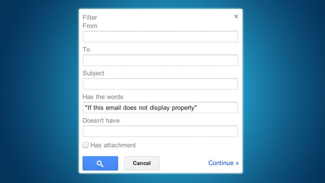 Weed Out Non-Personal Emails with This Gmail Filter
