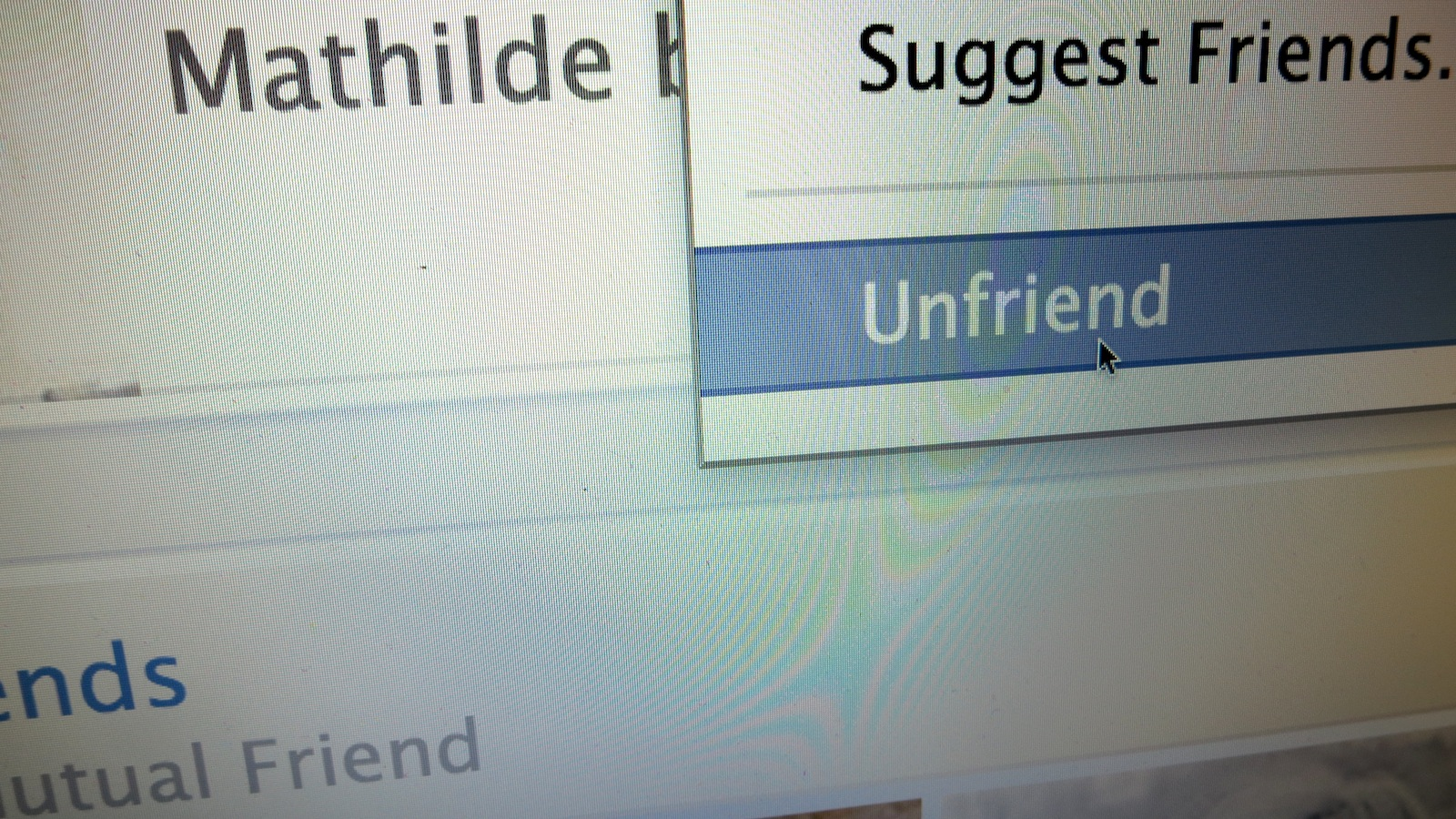 Click here to read How to Deal with Someone Unfriending You