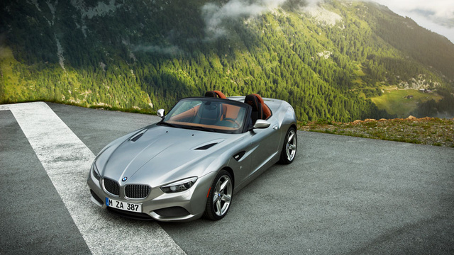 BMW Zagato Roadster Gallery