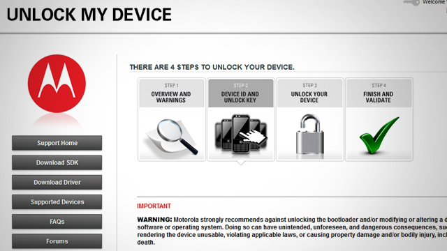 Click here to read Motorola Launches Official Bootloader Unlocking Tool for Android Phones