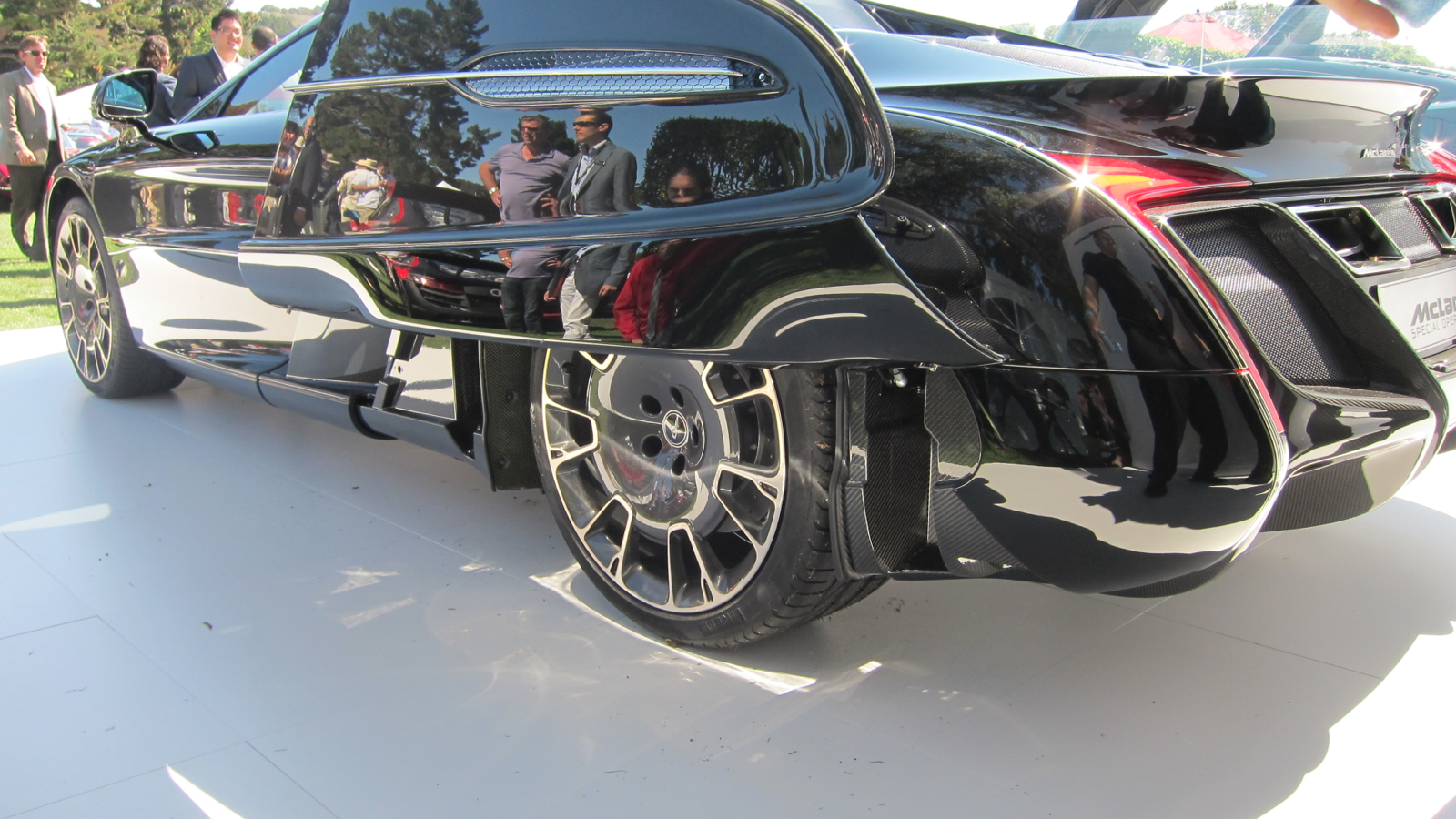 Small Blog V8 Mclaren X1 Mp4 12c Meets Art Deco Spaceship