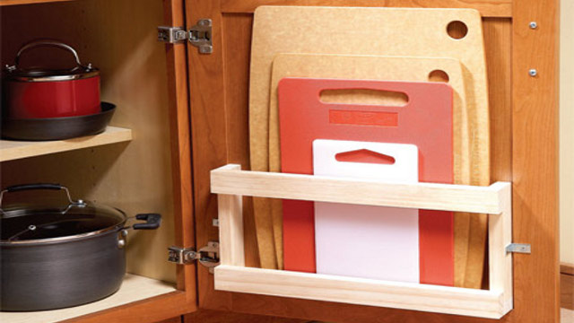 Click here to read Store Cutting Boards in Your Cabinets with a Magazine Rack