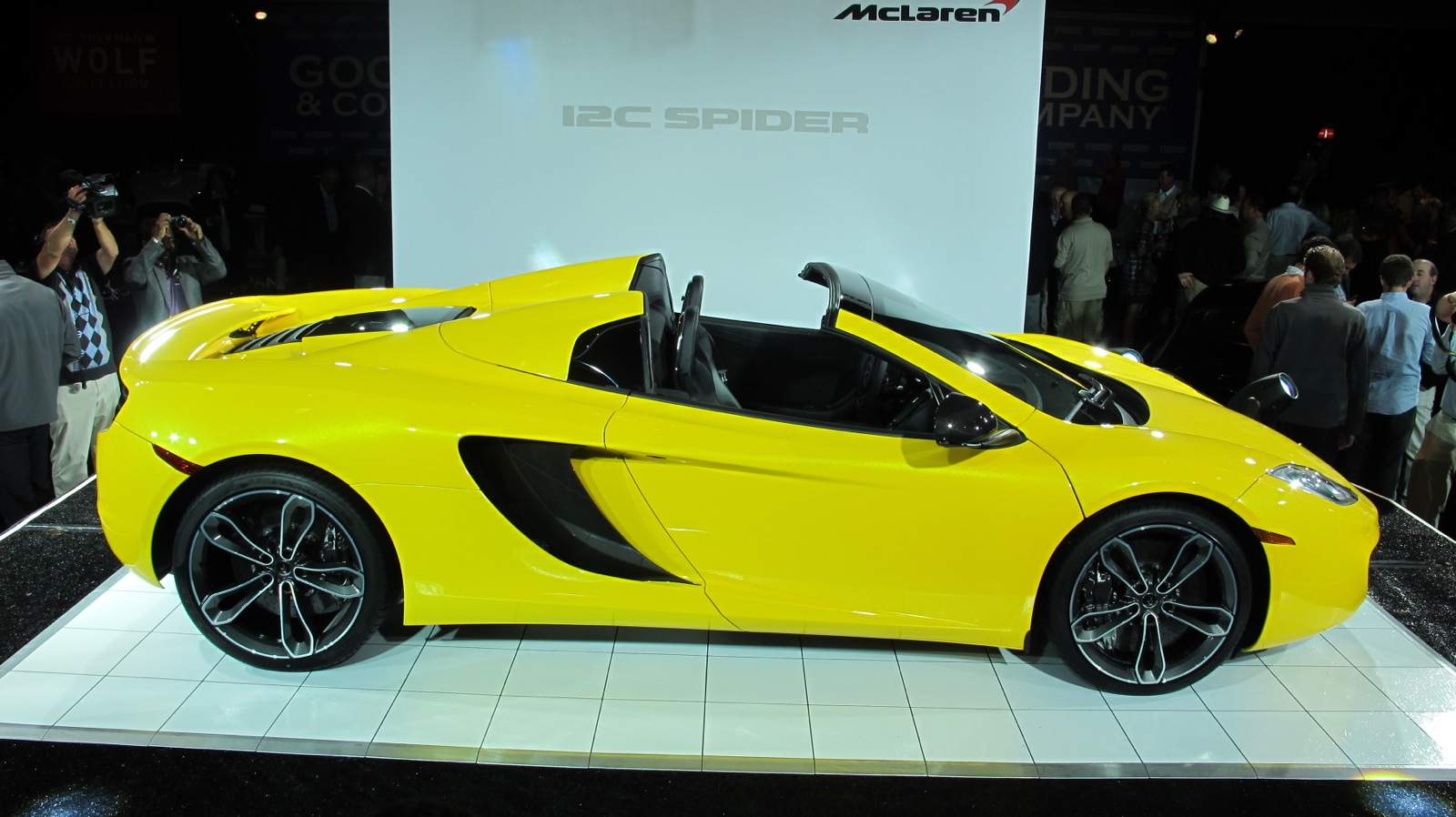See The McLaren 12C Spider Live At Pebble Beach - Jalopnik