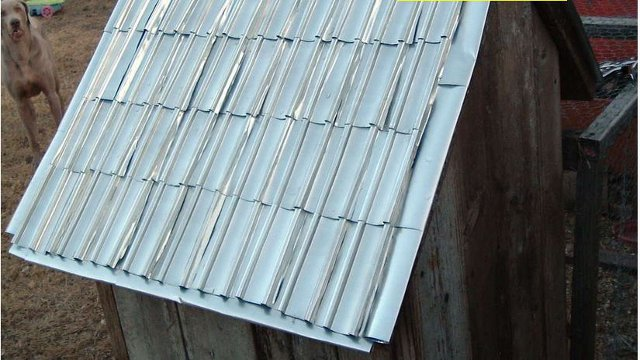 Click here to read Make Shingles from Aluminum Beverage Cans