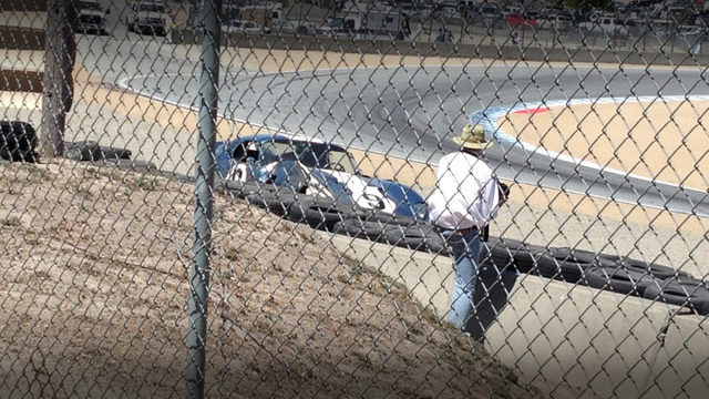 $4 Million Shelby Daytona Coupe Crashes At Laguna Seca