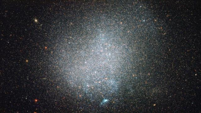 How can a galaxy full of billions of stars be considered small and lonely?