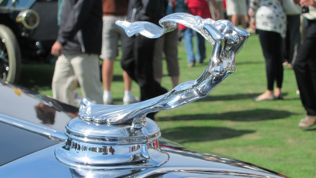 Pebble Beach Hood Ornament Porn