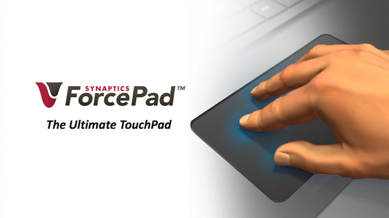 Synaptics ForcePad: The Laptop Trackpad Is About To Change Forever