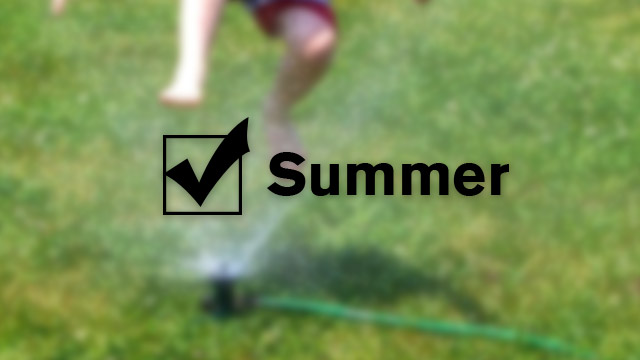 Click here to read Create an End of Summer Checklist to Remind You What You'll Need Next Year