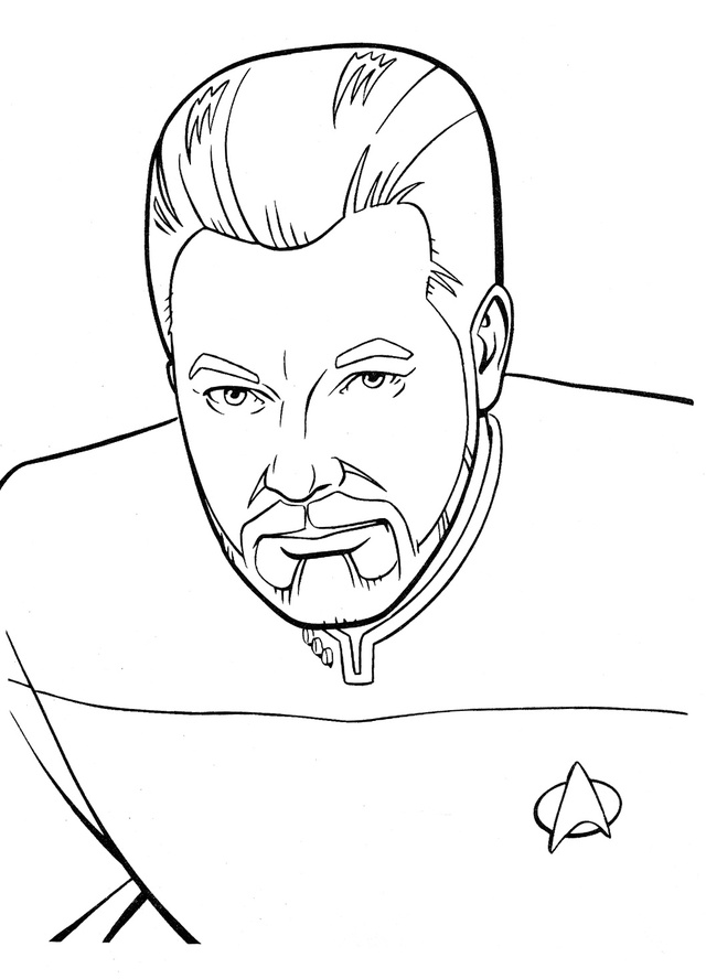 Star Trek Free Coloring Pages