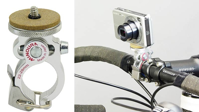 Lovely Quick Release Camera Mount Complements Your Fixie's Hip Aesthetics