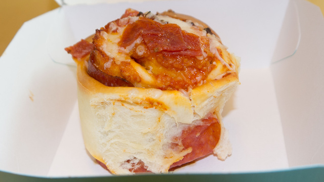 Cinnabon's Pizzabon: The Snacktaku Hideous Abomination Review