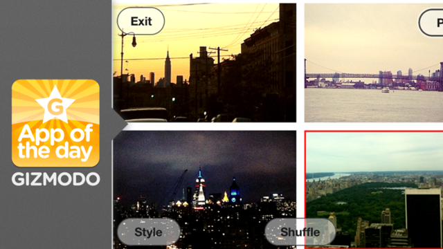 Mixel: Make Instant Collages From Your iPhone Pics