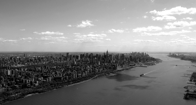 79 Dramatic Black And White Cityscapes
