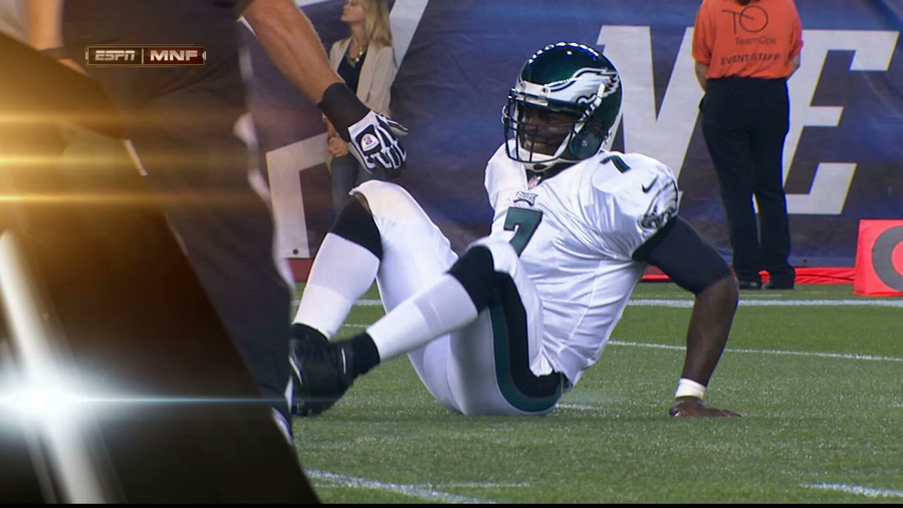Michael Vick Injured Again, Knocked Out Of Preseason Game