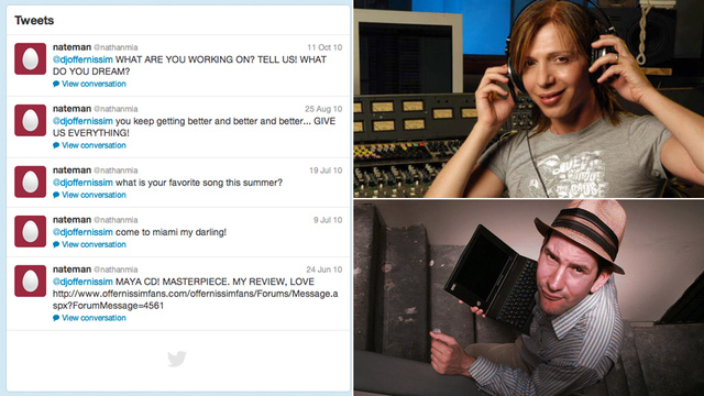 Is Matt Drudge Stalking an Israeli DJ on Twitter?
